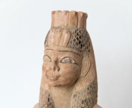 Statuette égyptienne en terre cuite