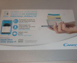 Lave-linge connecté Candy-8kg-SOUS GARANTIE
