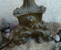 lampe vintage boudoir en laiton
