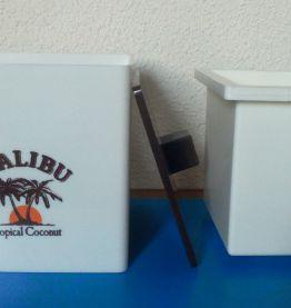 Bac à glaçons publicitaire - Malibu