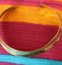 collier prés du cou dore or vintage retro