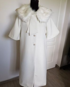 Manteau pin-up style vintage