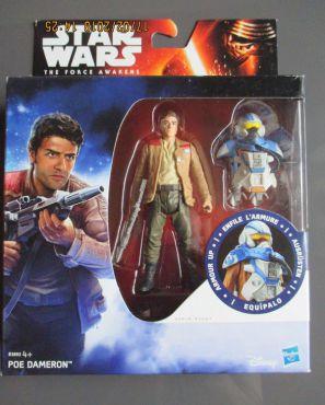 Star Wars Episode VII - Figurine 10 cm avec armure - Poe Dameron