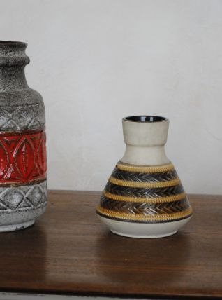 3 vases vintage west germany céramique