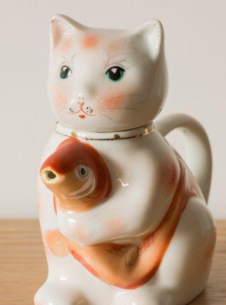 Théière chat