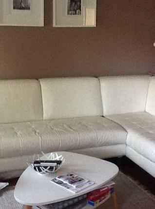 Canape cuir angle