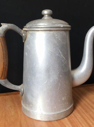 Cafetière en Aluminium année 40