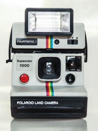 Polaroid 1000 + Flash Polatronic  -  90 EUROS