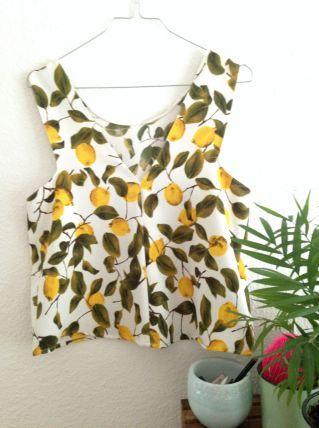 tee shirt citron
