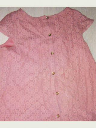 T-shirt rose fleuri rose