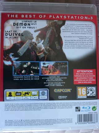 Devil May Cry 4 Version FR Sony PlayStation 3 PS3 jeu Neuf