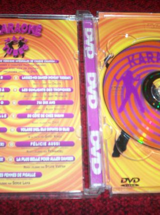 DVD KARAOKE MAXI TUBES