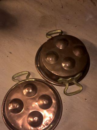 petits plats en cuivre