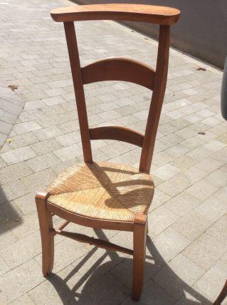 Lot de 2 chaises d'église ou de prière