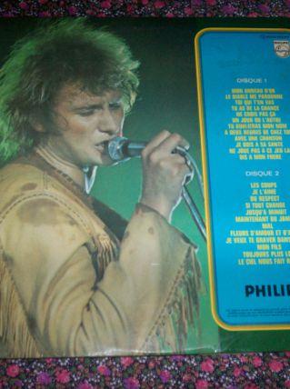 disque 33 tours 24 titres de JOHNNY HALLYDAY