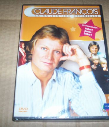 lot de 2 dvd claude francois