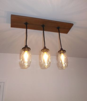 Lustre suspension luminaire industriel luckyfind for Lustre 3 suspensions