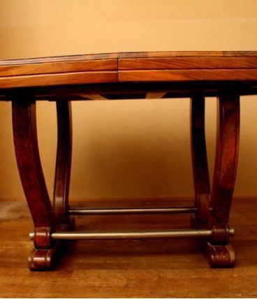 Table noyer massif