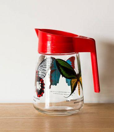 Pichet papillons