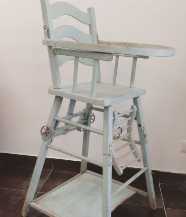 Chaise haute années 50
