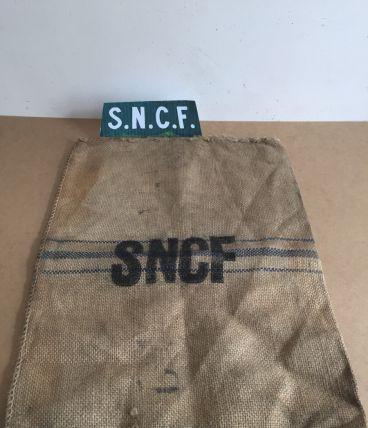 Sac en jute SNCF