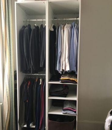 Armoire Dressing ouvert 1 an