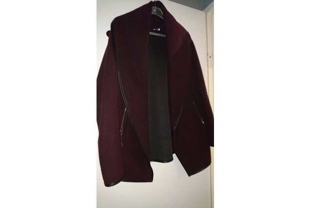 MANTEAU ROUGE BDX T38