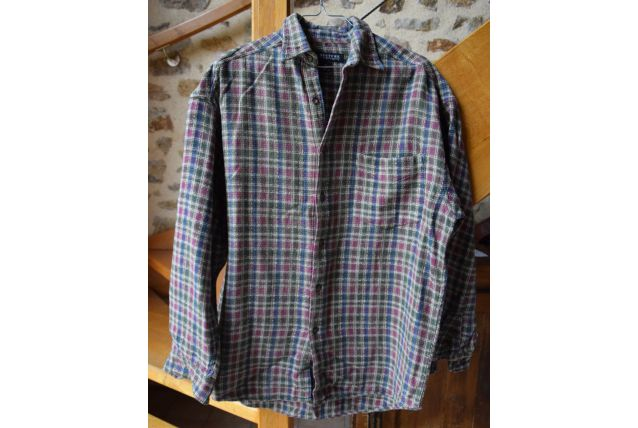 chemise type bucheron