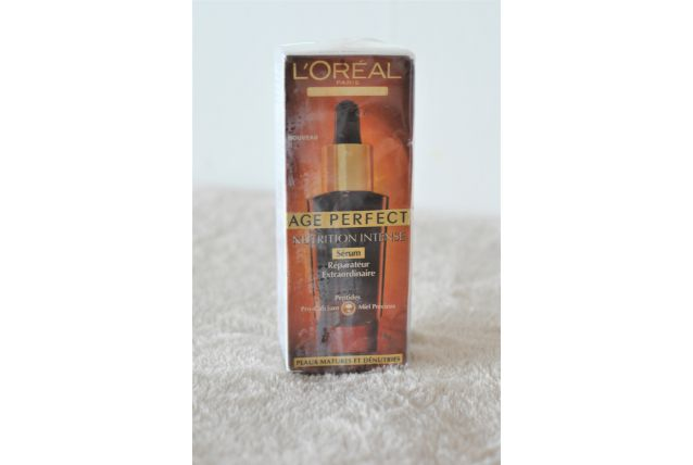 L'Oreal sérum nutrition intense Age Perfect
