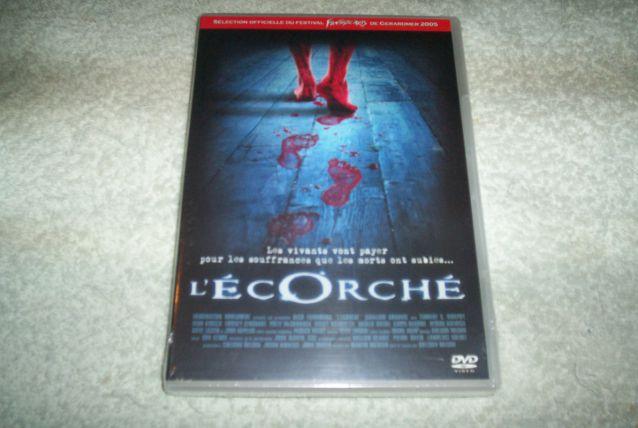 DVD L'ECORCHE film horreur