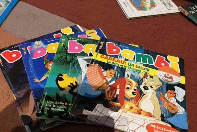 Lot de revues Bambis 1996