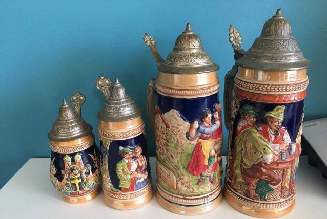 Pichets anciens allemands