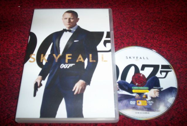 DVD skyfall 007 james bond
