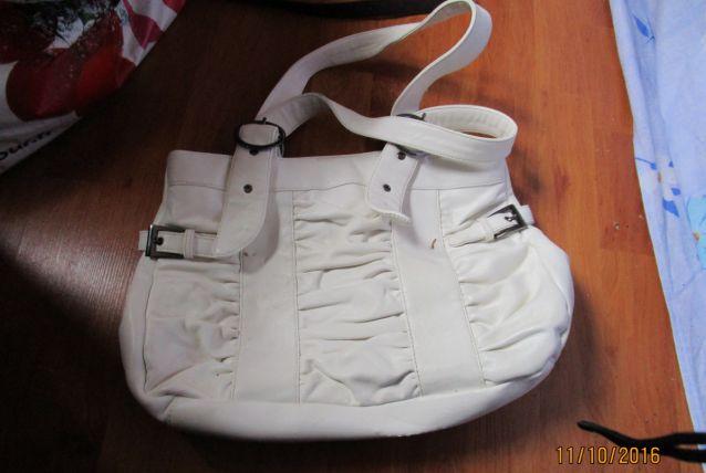 sac a main blanc