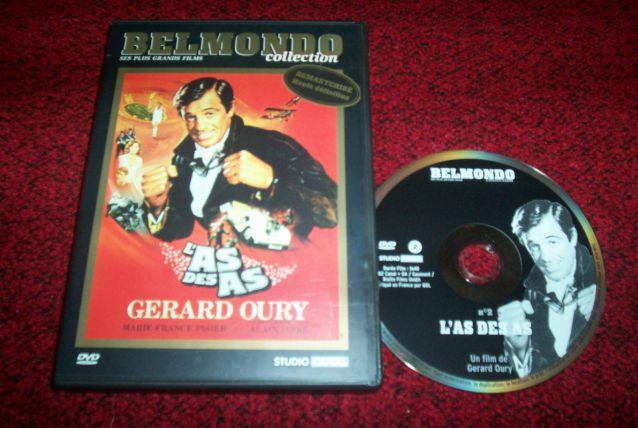 DVD L'AS DES AS avec belmondo