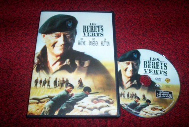 DVD LES BERETS VERTS AVEC JOHN WAYNE FILM GUERRE
