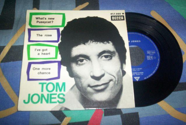 DISQUE 4 TITRES années 60 ORIGINAL TOM JONES