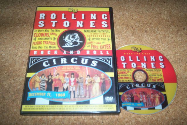 DVD ROLLING STONES CIRCUS DECEMBRE 1968