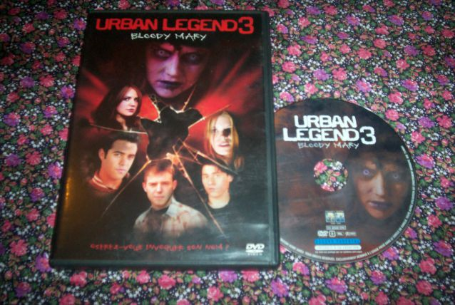 DVD URBAN LEGEND 3 un film d'horreur